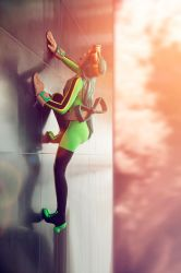 I can clamber up walls by Rinaca-Cosplay
