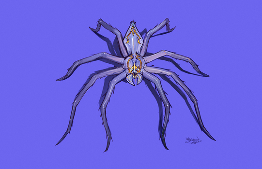 Caustic Spider - Female by NoahBDesign