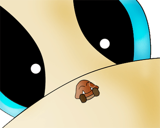 Sleepy Tiny Goomba by AmazingSpork