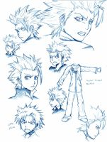 Toshiro Sketches by AJanime12