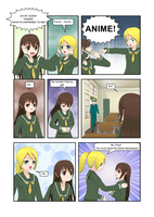 Adventures in Comipo Ch. 1 P. 1 by Tinker-Jet