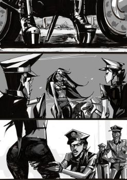 Stray Beastz chapter 1 page 3 by celor