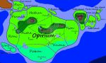 Map of Opirium by IsellaHowler