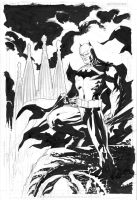 Batman Barcelona rough inks by jimlee00