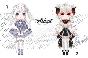 [Adopt Auction] Chibi #2 - CLOSE - by QuinnyIlada
