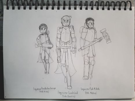 [TLH][40k] The Inquisitors by Warden-Sigma