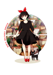 kiki's delivery service by strawberry-queen1