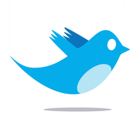 Twitter Bird Logo by iPotion