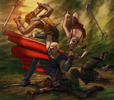 Ankor Chapter 2 fight by fbresciano