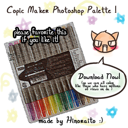 Copic Palette Photoshop by hinoraito