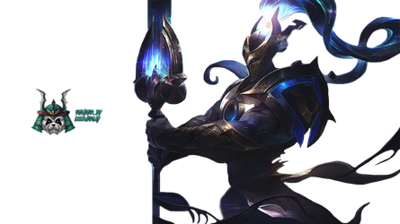 Cosmic Defender Xin Zhao - Render by lol0verlay