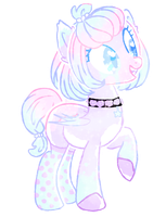 Pastel vampire pony auction .:CLOSED:. by Princess-Berri