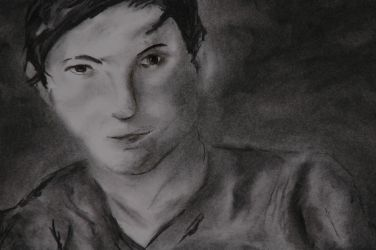 Charcoal Study Detail by johnlacey