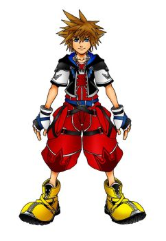 Kingdom Hearts 2 Limit Form by Marduk-Kurios