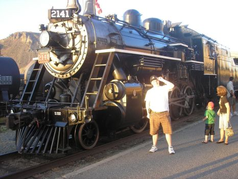 Me and CNR 2141 steamer by Tyler3967
