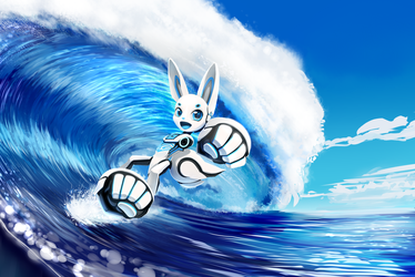 Surf's Up! by JT-Metalli
