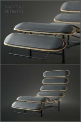 Skateboard Lounge Chair 03 by toto777