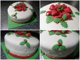 Christmas Cake by JankaArt