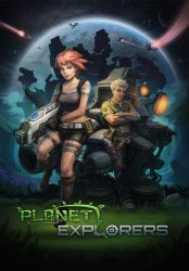 Planet Explorers Poster 01 by PatheaGames