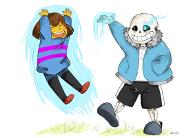 UNDERTALE- Playing with MAGIC! by Kayroos