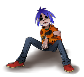 Gorillaz- 2-D by Cryophase