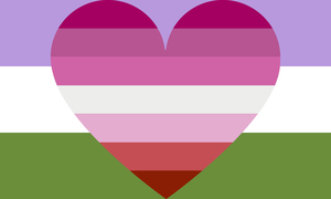 Genderqueer Lesbian Combo by Pride-Flags