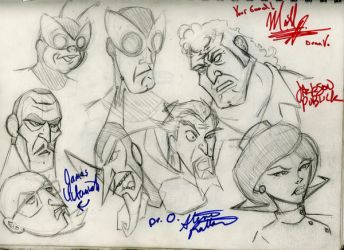 Venture Brothers Doodles by ZombieHipHopHex