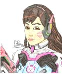 D.Va colour ( a color) by negriwtf