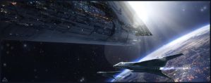 fly in space by jamga