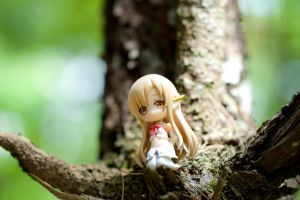 Waiting for the black swordman - Asuna ALO by Nendotan