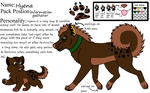 Hyena the wood wolf by AFallenQueen3