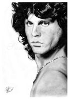 Jim Morrison by raduluchian
