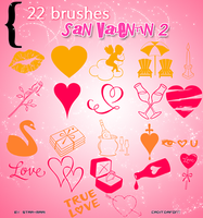 San Valentin Brushes 2 by star-mari