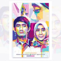 Wedding Popart WPAP  by opparudy