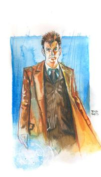 Tenth Doctor commission by RodReis