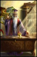 HP Tarot - 1. The Magician by Nendil
