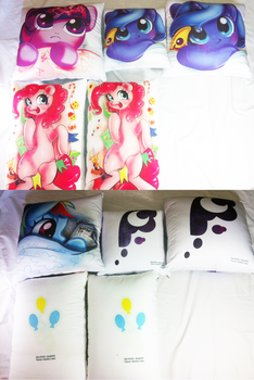 Pony Cushion Making Past 3 by Kardien