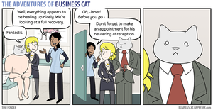 The Adventures of Business Cat - Fixed by tomfonder