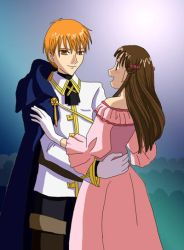 Kyo and Tohru for PookiesUncle by taichikun14