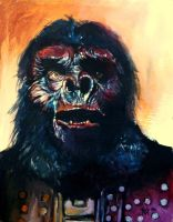 General Urko from Planet of the Apes by Gossamer1970