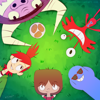 Foster's Home for Imaginary Friends by n33rrx