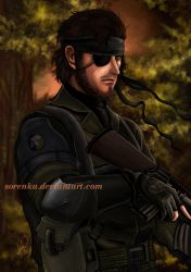 Naked Snake by sorenka