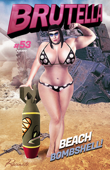 Brutella: Beach Bombshell! by ROCINATE