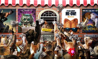 Cat Theatre by Mr-Ripley