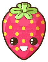 Cutie Strawberry by pai-thagoras