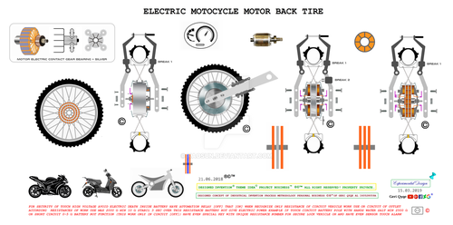 electric tire by Kaosun