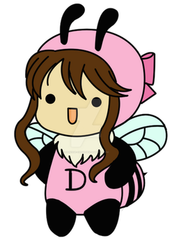 Chibi Bee Denisse-chan by Denisse-chan