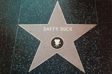 Daffy Duck's Star by hamursh