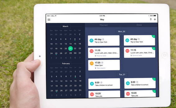 Schedule Planner 2.0 for iPad by ifeell