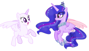 Crystal Prism collab by SugarMoonPonyArtist